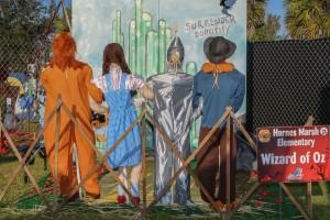 Harnes Marsh Elementary scarecrow