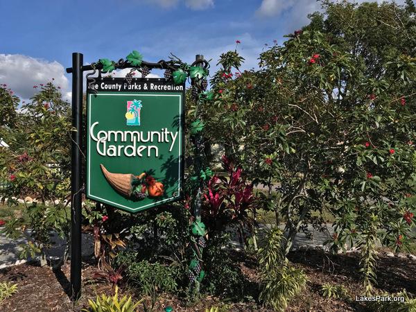 The Community Garden at Lakes Regional Park