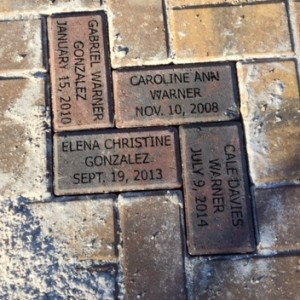 Lakes Park Fort Myers Children's Garden Brick Installations February 16thth 2018