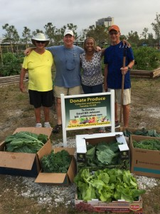 Food Harvest for Community Cooperative - Lakes Park Community Garden volunteers ROCK! 03-20-2018