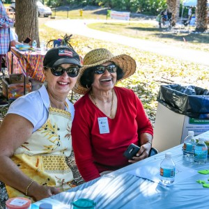 The Children's Garden Committee was well-represented | Brick by Brick Picnic at Lakes Regional Park, 03-18-2018
