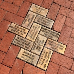 A brick honoring Monet Armenia was installed near the Train Museum on May 9th, 2018