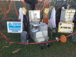 Lakes Park Enrichment Foundation 2017 Scarecrows in the Park competition winners