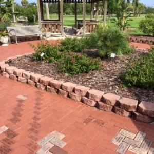 Brick installation Rose Garden
