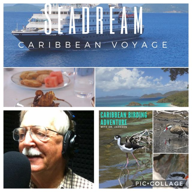 Dr. Jerry Jackson will lead Carribbean birding excursions this December - benefitting the Lakes Park Enrichment Foundation!