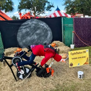 "Best Business/Organization Created Display: CycleStation Fort Myers, ""Debbie Phone Home"""