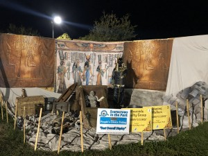 """Scarecrows in the Park - Best Overall Display: North Fort Myers High School, """"Mummy's Curse,"""" sponsored by Riverside Realty/Staging Matters"""
