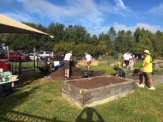 Plant Your Garden Day in the Lakes Park Community Garden
