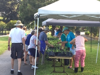 Plant Your Garden Day at the Lakes Park Community Gardne