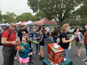 Letters to Santa at the Lakes Park Farmer's Market, December 18th 2019