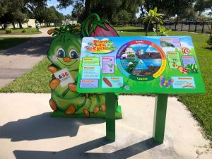 Cooper the Caterpillar and the Life Cycle of a Plant in the Children's Garden at Lakes Park