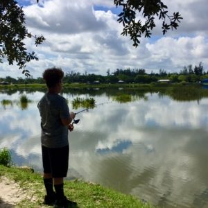 Kid Stuff - a contemplative lakeside moment