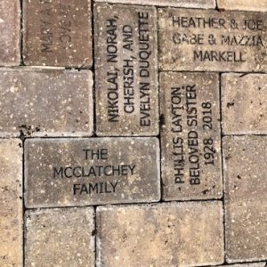 The McClatchey Family brick